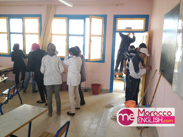 Abdellah Yhaya  MoroccoEnglish Alfid highschool class outlook students club English motivate