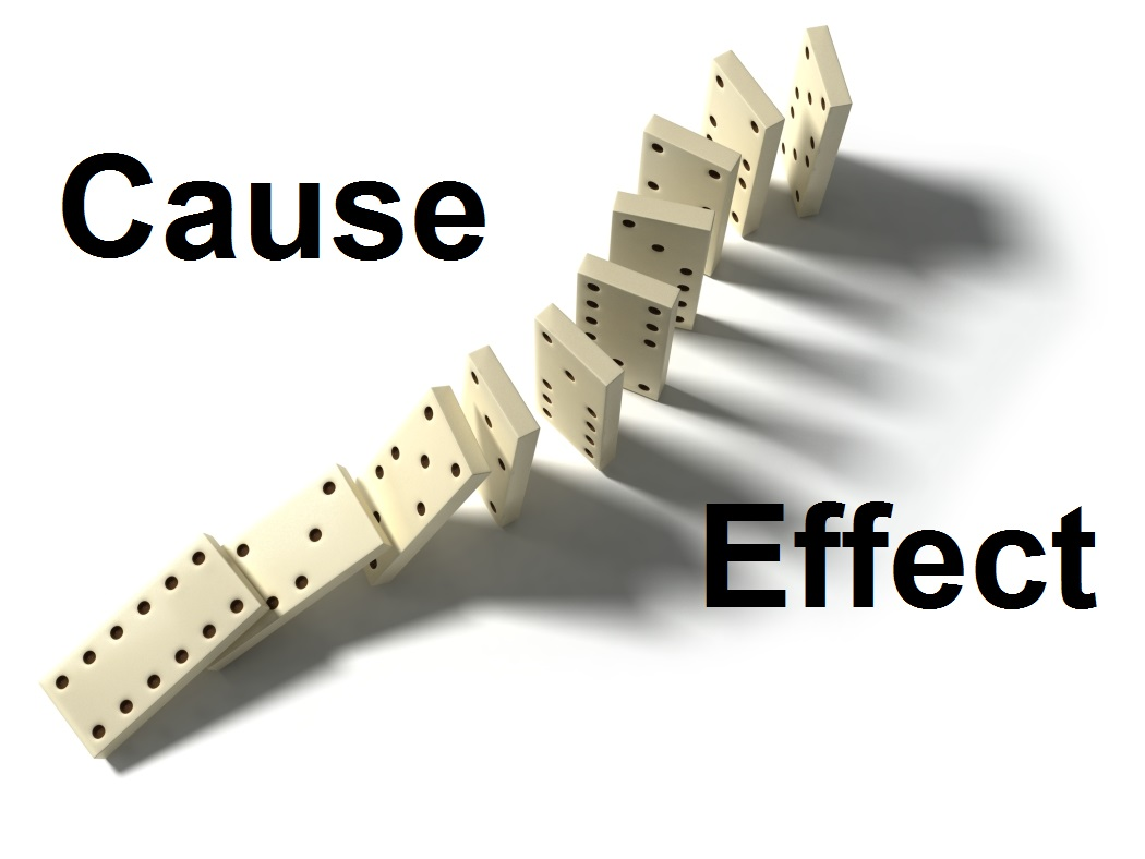 cause effect band