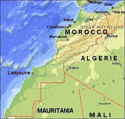morocco map moroccoenglish carte خريطة