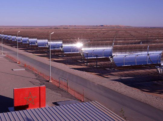 Morocco launches world's largest solar power project