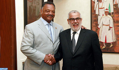 Reveren Jesse Jackson,in Dakhla, hails Morocco's reforms and development achievements - Moroccoenglish.com
