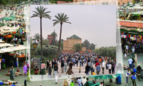 Unheard-of Influx of Tourists in Marrakech and Agadir.