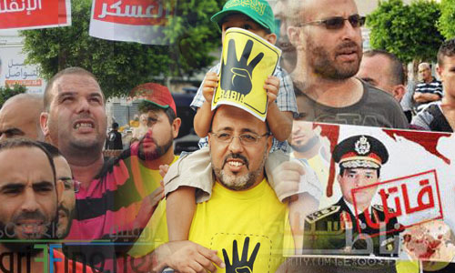Voices from Nador warble for Egyptians against El-sisi and his allies