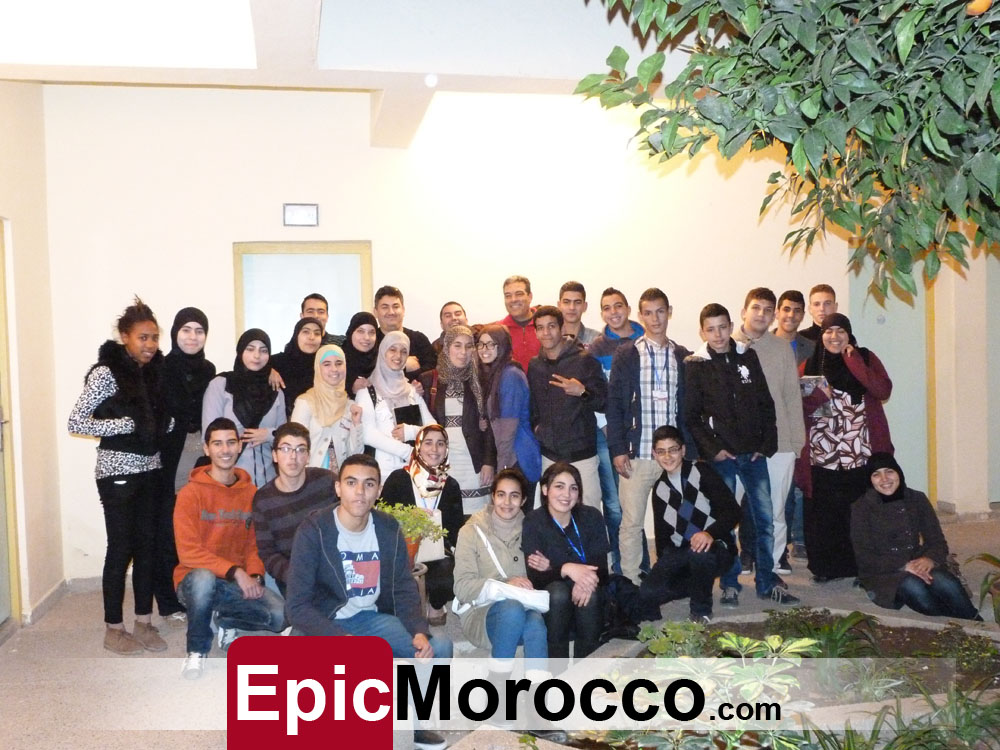 Nador - Al-Faid High school English Club : Spelling Bee 2014